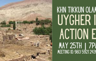 Banner for Uygher Info & Action event